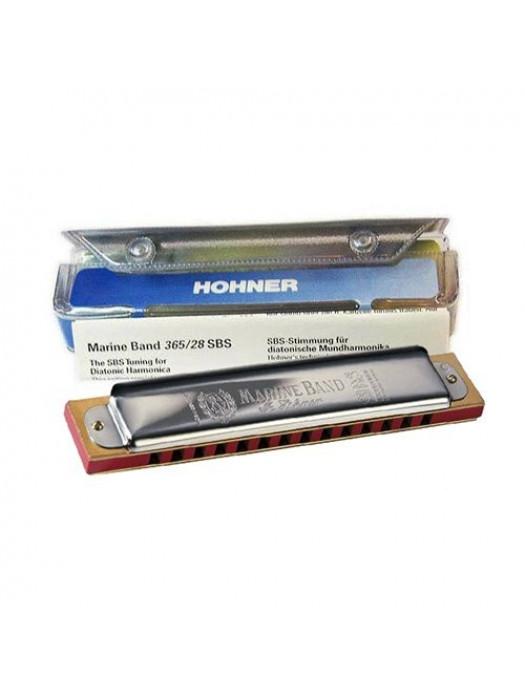 HOHNER 365/28 G MARINE BAND ORGLICE B-stock