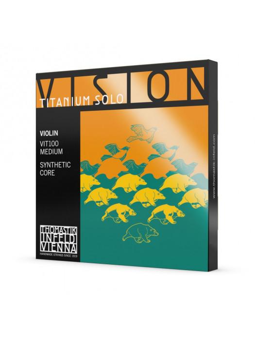 THOMASTIK VIT100 VISION TITANIUM SOLO STRUNE VIOLINA 4/4