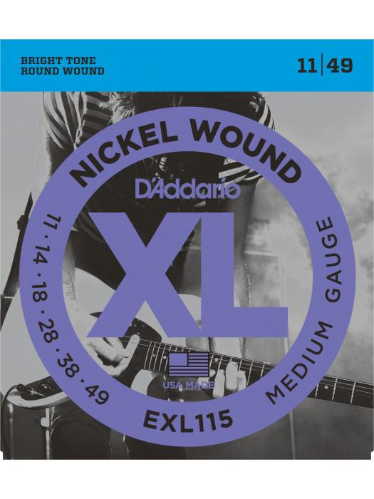 DADDARIO EXL115 STRUNE BLUES/JAZZ 11-49