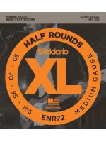 DADDARIO ENR72 HALF ROUND STRUNE ZA BASS 50-105 LONG