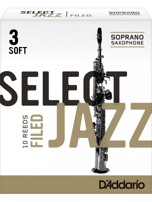 RICO RSF10SSX3S SELECT JAZZ 3S jeziček za sopran saksofon