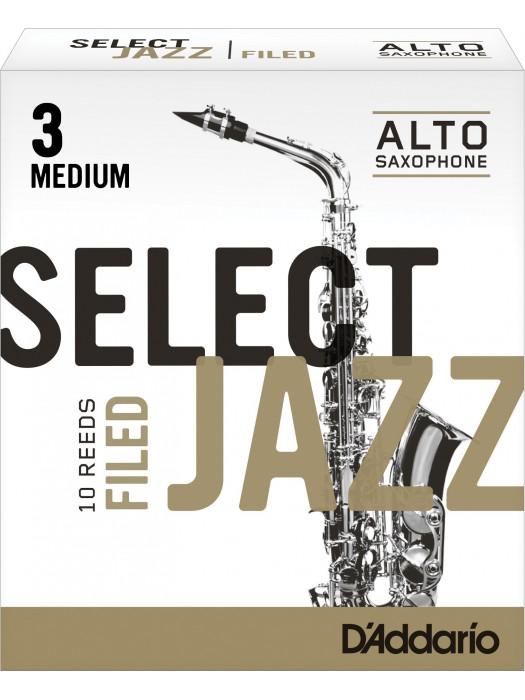 RICO RSF10ASX3M SELECT JAZZ FILED 3M jeziček za alt saksofon