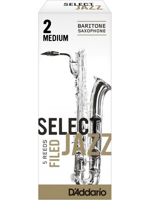 RICO SEL.JAZZ FILED BARITON SAX 2S jeziček za bariton saksofon