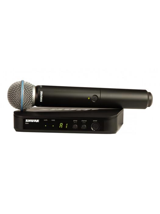 SHURE BLX24E/B58 VOCAL SYSTEM W/BETA58