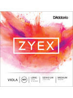 DADDARIO Zyex Viola DZ410 LONG MED