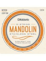 DADDARIO JS74 STRUNE MANDOLINA MED