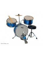 MAXTON JUNIOR 3 PCS DRUM SET METAL BLUE