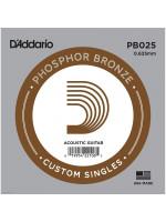 DADDARIO PB025 SINGLE STRING
