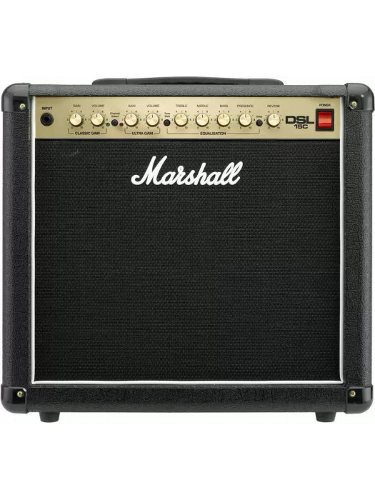 MARSHALL DSL15C 1X12 COMBO VALVE DUAL SUPER LEAD 15W