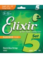 ELIXIR 14202 NANOWEB STRUNE ZA BAS 5 str. 45-130