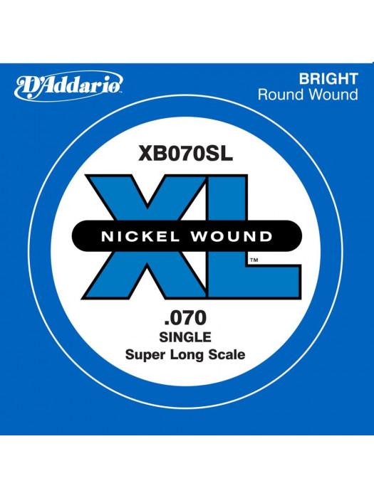 DADDARIO XB070SL POSAMEZNA STRUNA BASS SUPER LONG 070