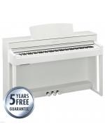 YAMAHA CLP-525WH WHITE PIANO