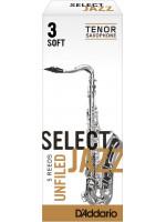 RICO RRS05TSX3S SELECT JAZZ UNIFIELD 3S jeziček za tenor saksofon
