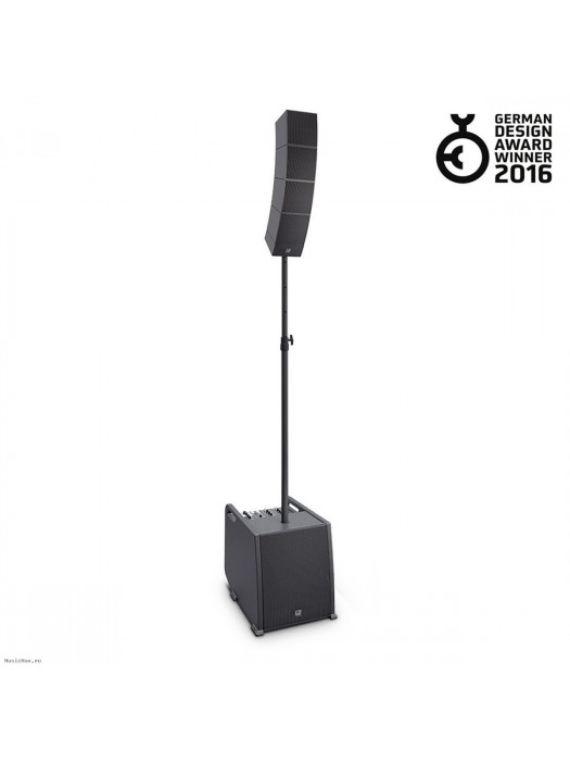 LD SYSTEMS CURV 500 PS PORTABLE ARRAY SYSTEM OZVOČENJE