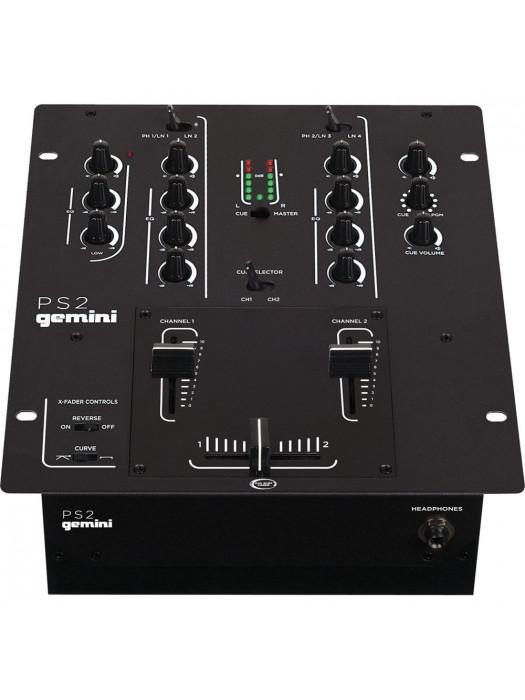GEMINI PS2 dj mixer