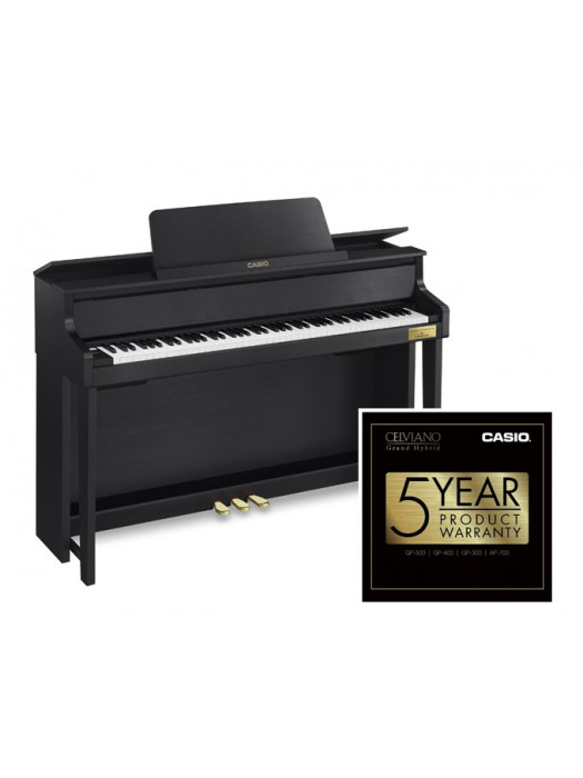 CASIO GP 300BK EL. PIANO CELVIANO Grand Hybrid