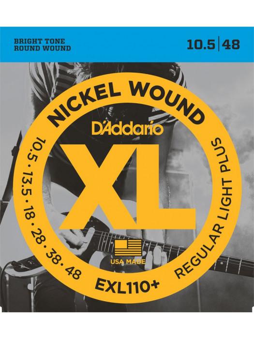 DADDARIO EXL110+ STRUNE ZA ELEKTRIČNO KITARO 10.5-48