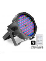 CAMEO CLPFLAT1RGB10IR FLAT PAR CAN RGB 10 IR LED LUČ