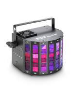CAMEO SUPERFLY XS 2-IN-1 DERBY EFFECT AND STROBE INCL, IR-REMOTE