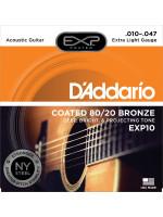 DADDARIO EXP10 STRUNE 80/20 10-47