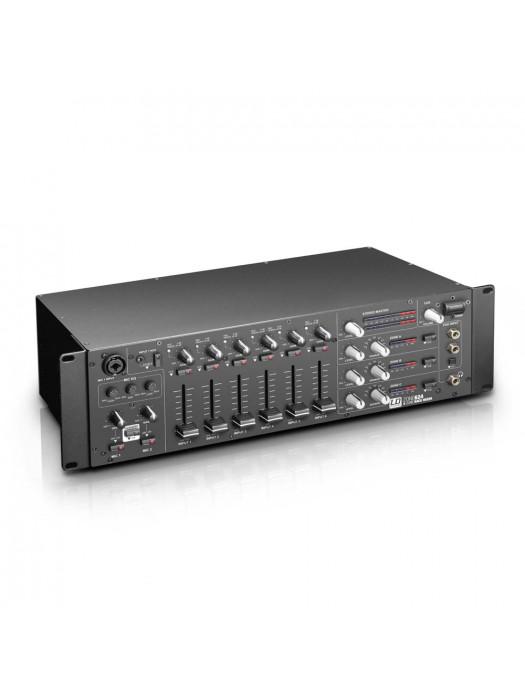 LD SYSTEMS ZONE 624 19 4-ZONE MIXER 3U