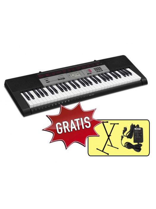 CASIO CTK1500 SET klaviatura z adapterjem in ksa005 stojalom