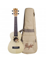 FLIGHT DUC325 SP/ZEB CONCERT UKULELE S TORBO