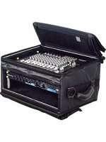ROCKCASE RC23813B RACK MIXBAG SOFT LIGHT CASE 3HE/3U