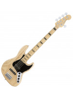 FENDER AM ELITE JAZZ BASS V ASH MN NA BAS KITARA