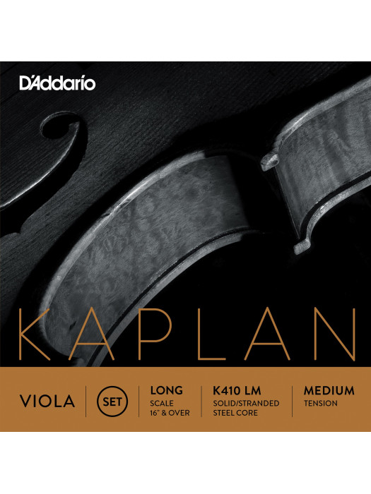 DADDARIO K410LM KAPLAN STRUNE ZA VIOLO LONG MEDIUM