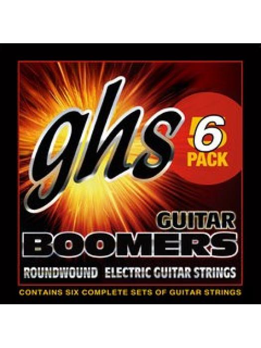 GHS GBL-5 STRUNE ZA ELEKTRIČNO 10-46 KITARO 5 PACK,