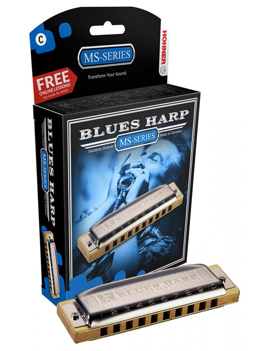 HOHNER 532/20 MS D BLUES HARP ORGLICE