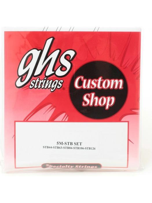 GHS 5M-STB SUPER STEELS STRUNE ZA BASS 44-126