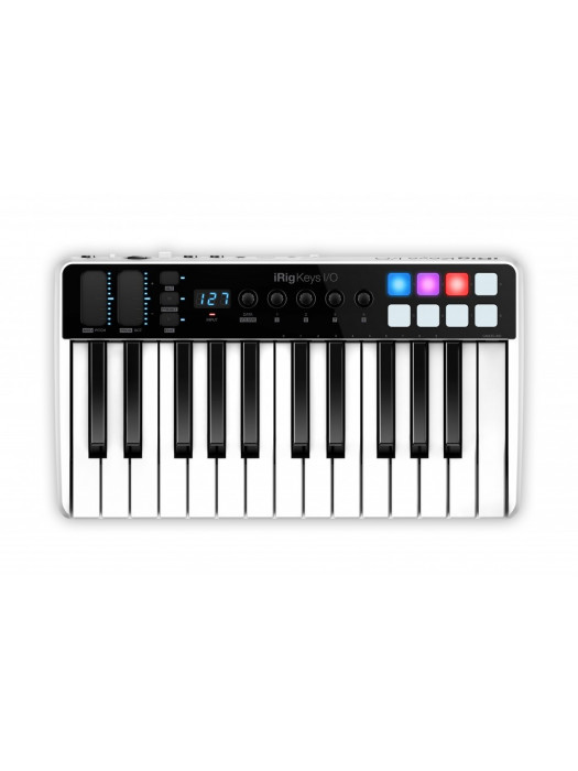 IK MULTIMEDIA iRIG KEYS I/O 25 MIDI KONTROLER IN INTERFACE