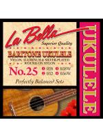 LA BELLA 25 STRUNE BARITON UKULELE