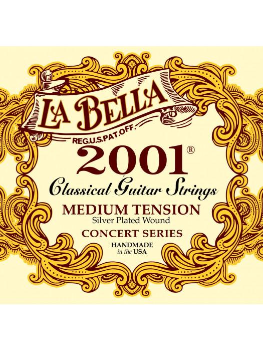 LA BELLA 2001 STRUNE KLASIČNA KITARA MEDIUM