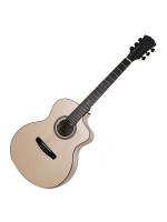 DOWINA SILK ROAD GACE-DS ELECTRO ACOUSTIC GUITAR W/CASE