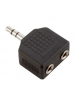ADAM HALL 7556 ADAPTER 2X ST MINI JACK - ST MINI J