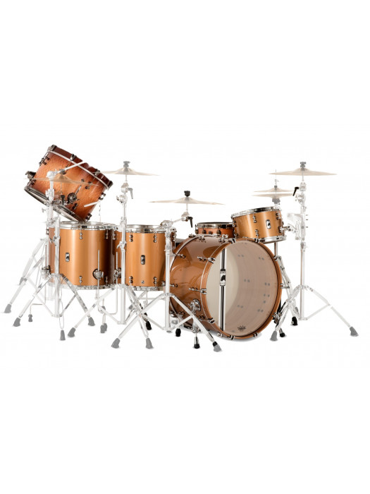 MAPEX BPDLV728XEW DESIGN LAB DRUM SET TRANSP COPPER
