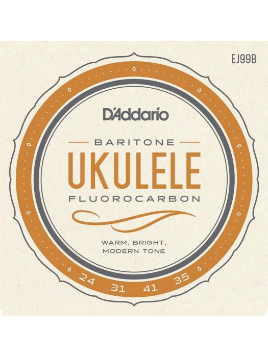 DADDARIO EJ99B CARBON BARITON UKULELE STRUNE 24-35