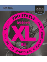 DADDARIO EPS170-5SL PROSTEELS STRUNE ZA 5STR BASS 45-130 SUPER LONG