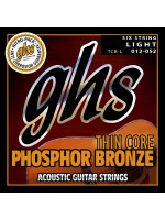 GHS TCB-L PH BRONZE THIN CORE STRUNE ZA AKUSTIČNO KITARO 12-52
