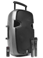 VONYX SPJ-PA915 AKTIVNI ZVOČNIK 700W S PRENOSNIM MIKR. IN USB PREDVAJALNIKOM