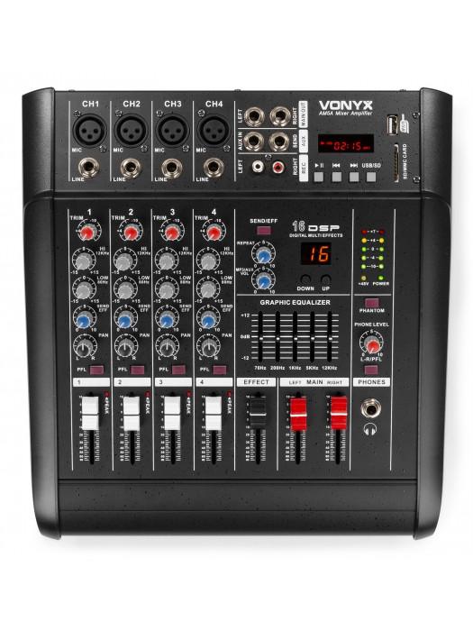VONYX AMSA 5 POWERMIKSER 2X500W 5 KANALOV