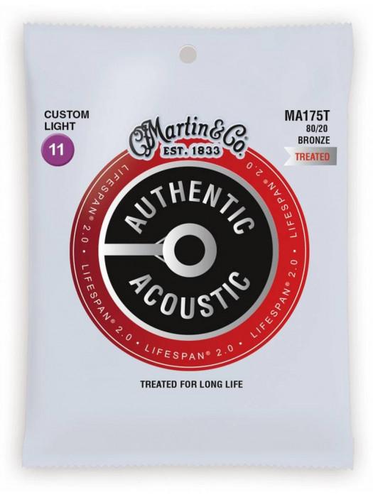MARTIN MA175T 11-52 strune za akustično kitaro