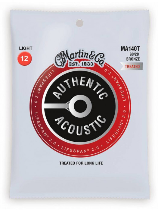MARTIN MA140T 12-54 strune za akustično kitaro