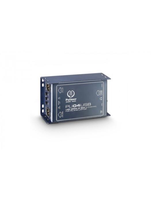 PALMER PLI04USB 2CH USB DI BOX LINE ISOLATOR