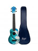 Flight TUSL25 Surf potovalne ukulele s torbo