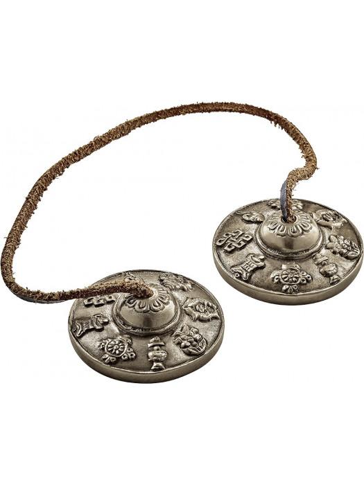 MEINL TINGSHA-8 Sonic Energy Luck Symbols Tibetan Cymbal
