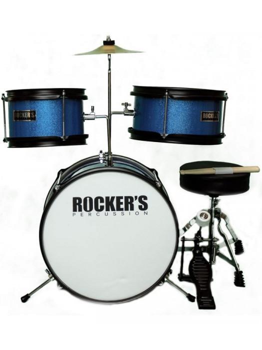 ROCKERS 3-14 BL JUNIOR DRUMSET set akustičnih bobnov